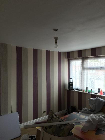 Wallpapering | D. Barrett Decorating | Tipton Painting & Decorating